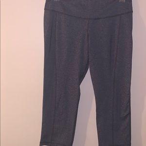 Gray Capris Active Pants